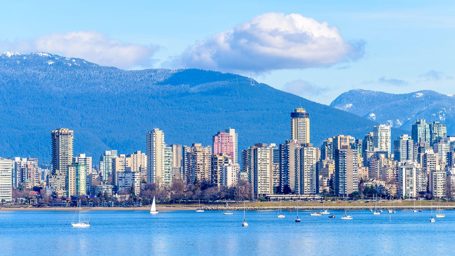 coast line of Vancouver Canada