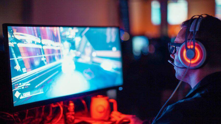 professional video gamer