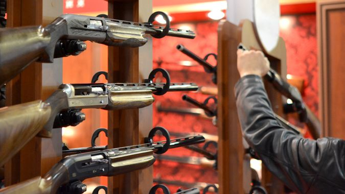 shotguns for sale in gun shop
