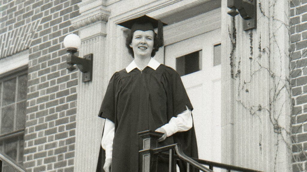 Female college graduate 1950.
