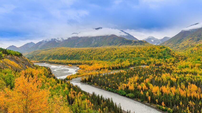 Anchorage Alaska landscape