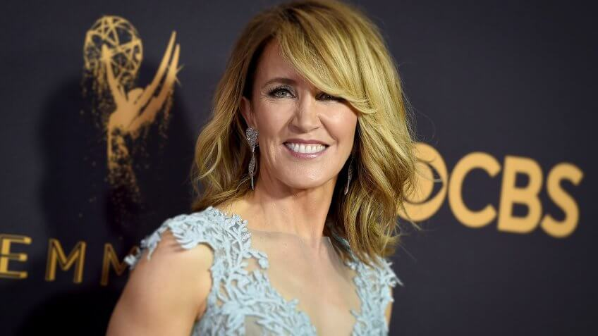 Award Winning actress Felicity Huffman alleged mail fraud for college admissions exams