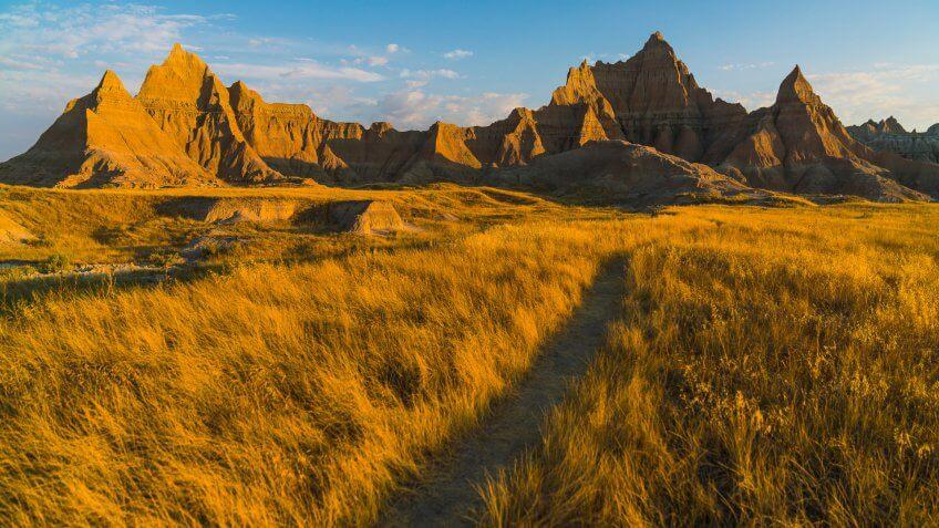 Bandlands National Park in South Dakota