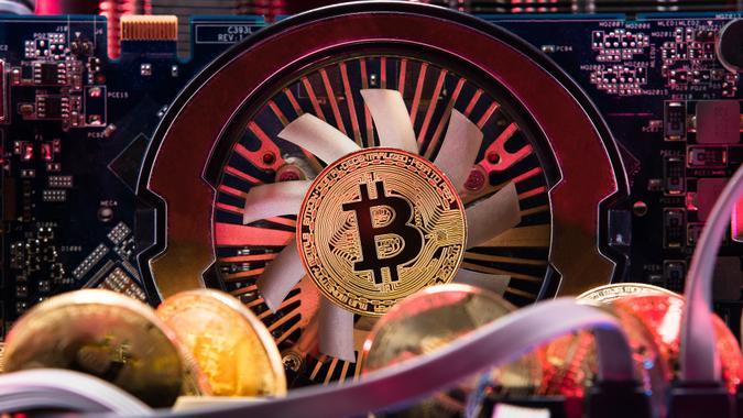 Bitcoin GPU card for mining cryptocurrency