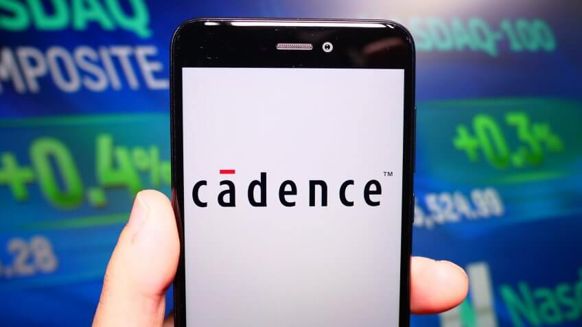 Cadence Design Systems on phone