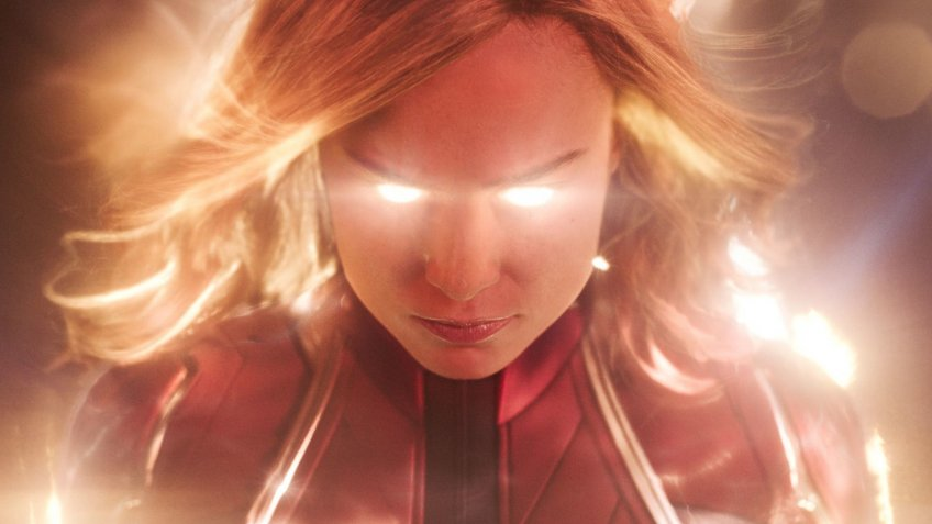Captain Marvel film with Brie Larson in 2019