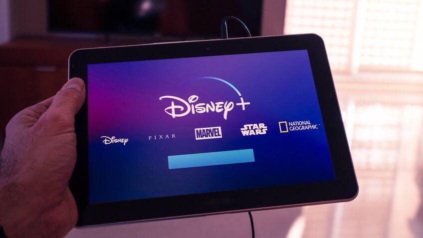 Disney plus new streaming service