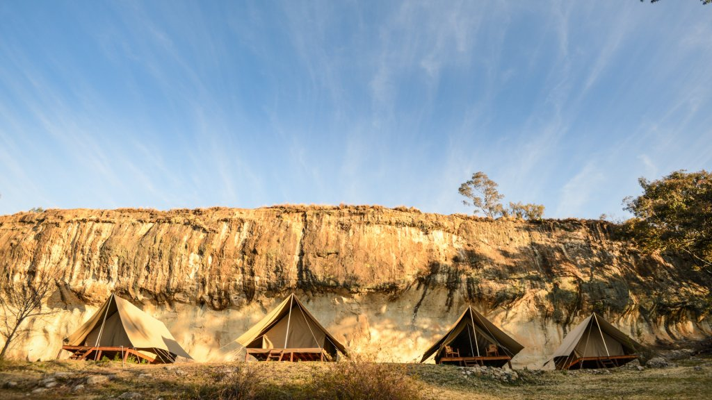 Glamping Tent Rentals for Groups near Golden Gate Highlands National Park