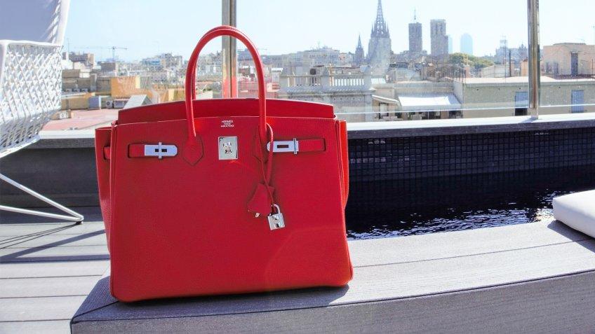 Hermes Birkin bag in Barcelona