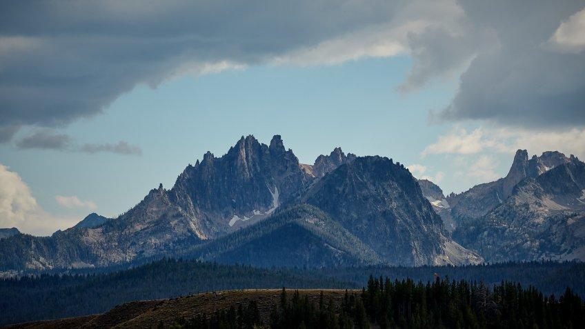 Idaho Sawtooth Mountain Range