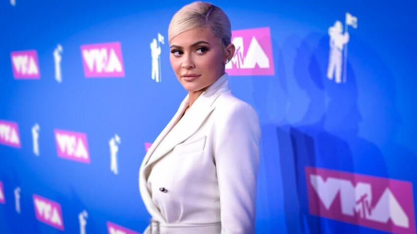 Kylie Jenner attends MTV Music Video Awards