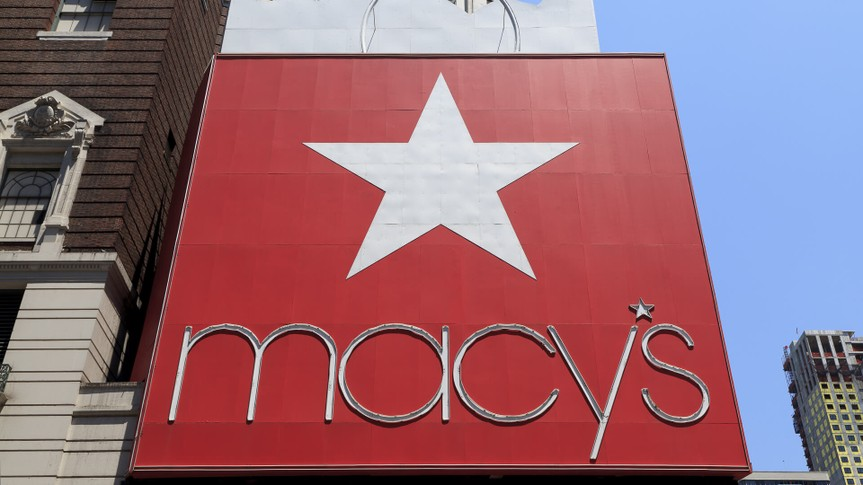 Macy shopping store in New York