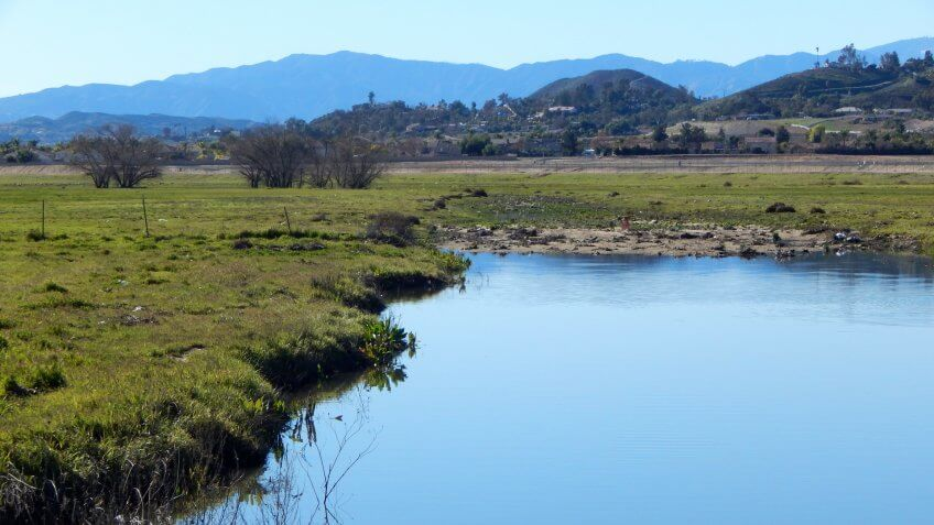 Menifee California salt creek