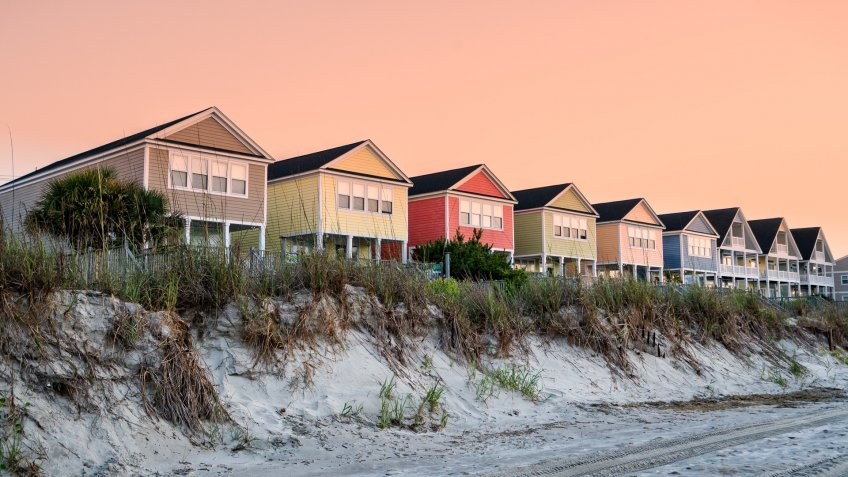 Myrtle Beach South Carolina beach homes