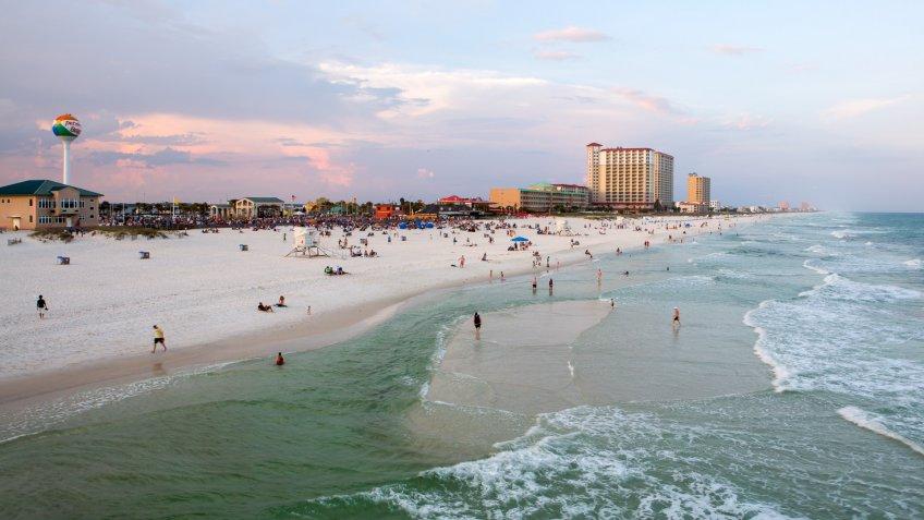 Pensacola, Florida, USA - May 19, 2015.