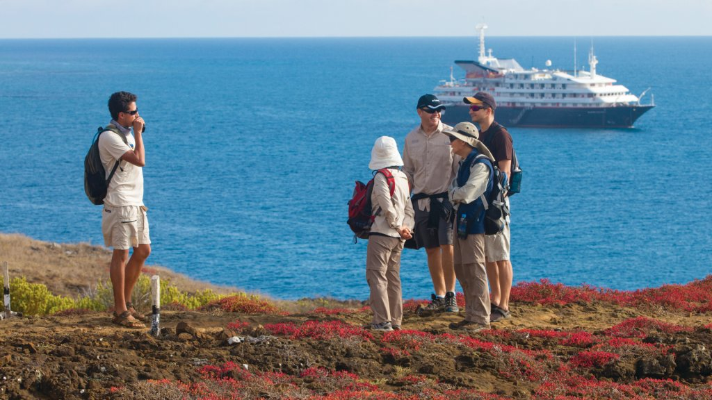 Silversea Galapagos cruise excursion tour