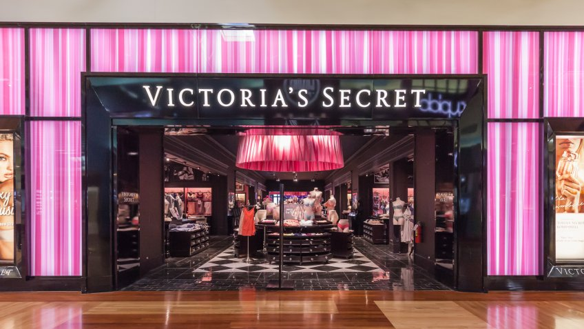 Victorias Secret store in shopping mall