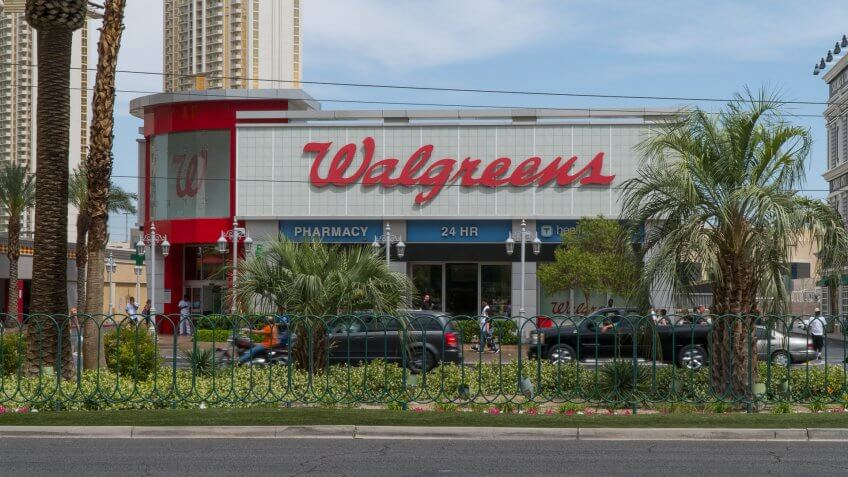 Walgreens store in Nevada