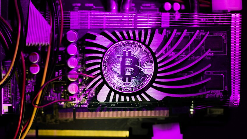 bitcoin on a GPU card for mining cryptocurrency