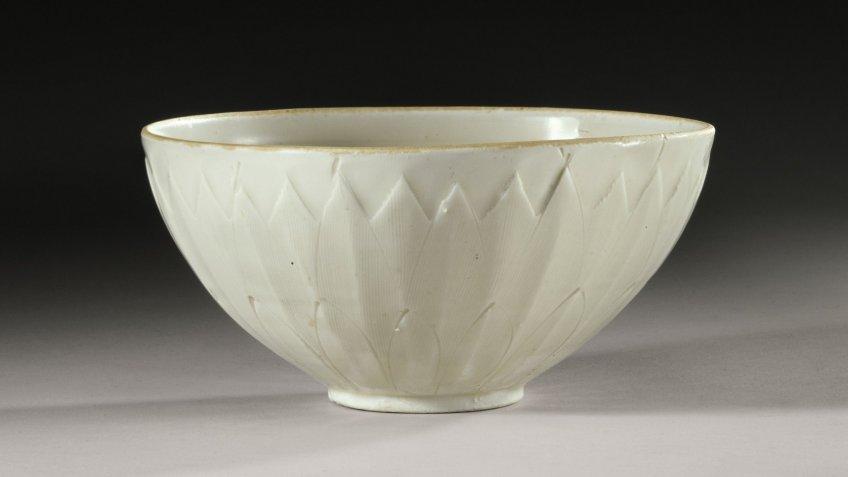 rare Chinese ding bowl
