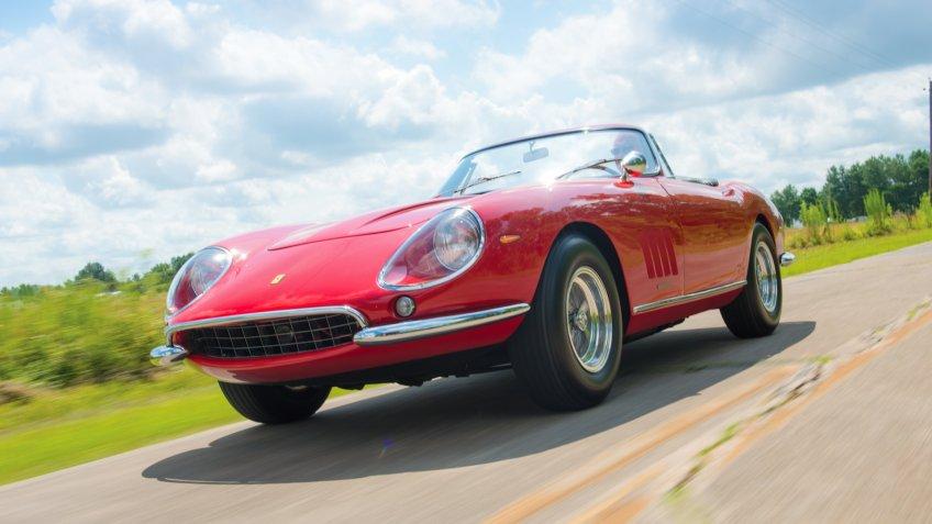 1967 Ferrari 275 GTB 4*S NART Spider by Scaglietti