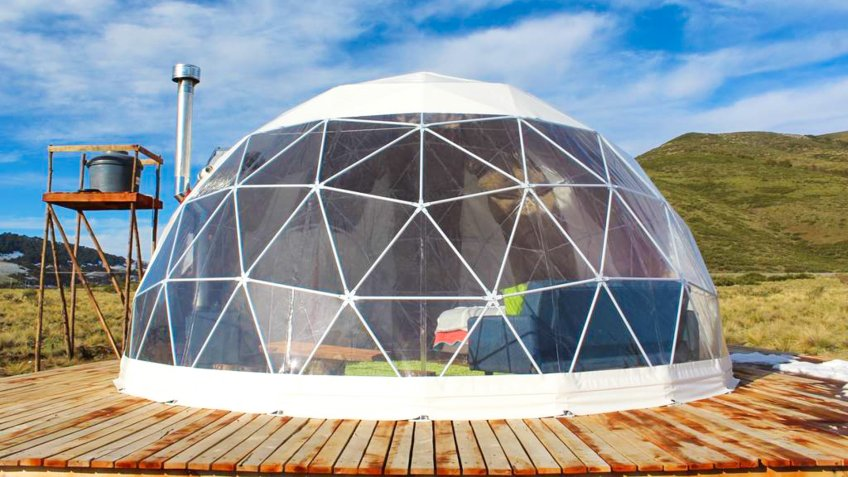 Light-Filled Dome Near Concepcion Chile