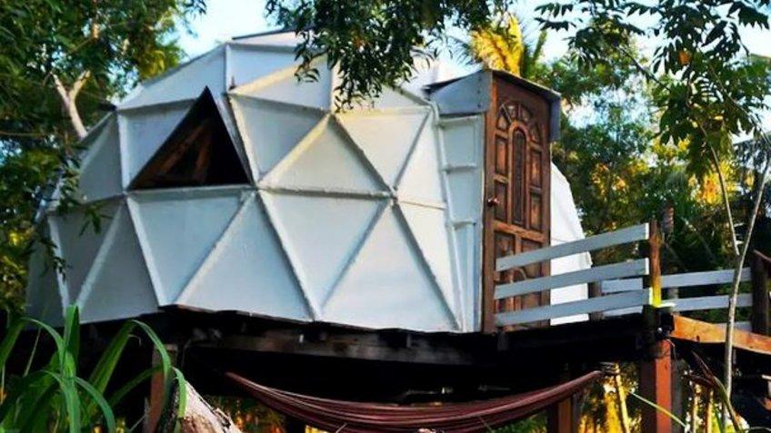 Garden Dome in Ko Pha-Ngan Thailand