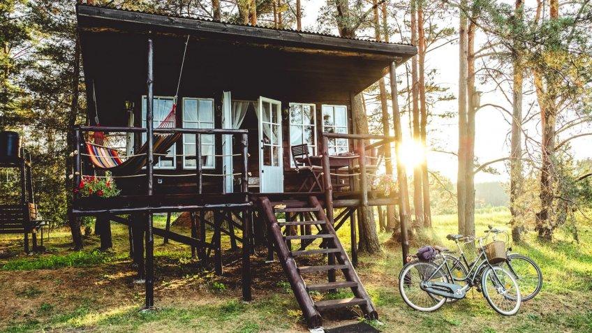Peaceful Treehouse Near Vilnius, Lithuania