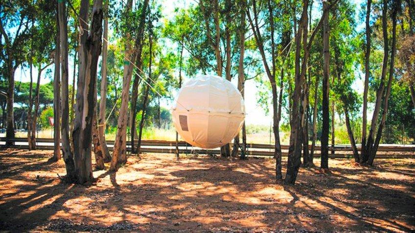 Suspended Dome in Huelva Spain