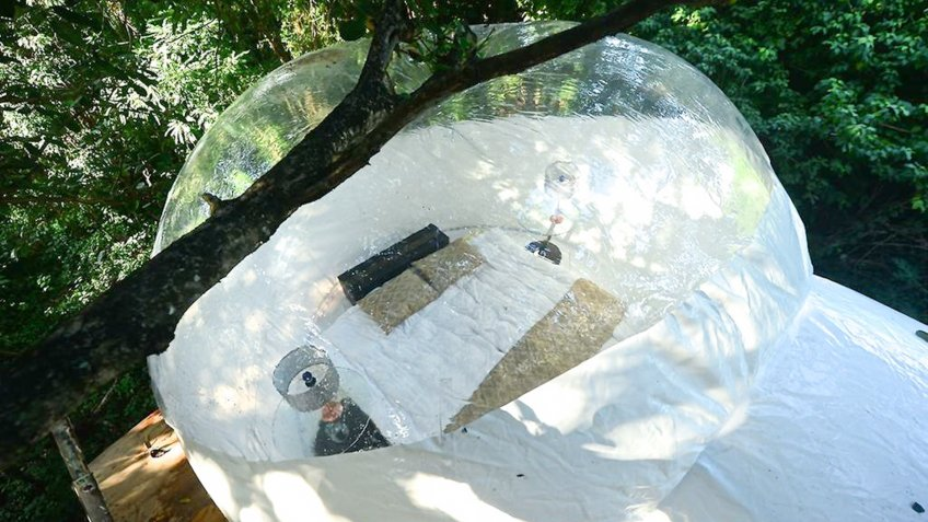 Bubble Tent With Resort Amenities in Playa del Carmen Quintana Roo Mexico