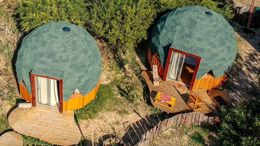 Geodesic Dome in Punta del Diablo Uruguay