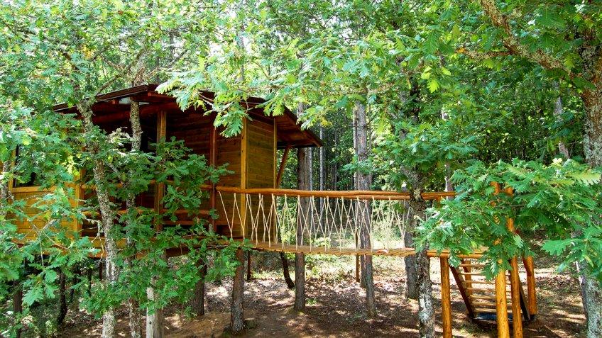 Romantic Treehouse in Halkidiki, Greece