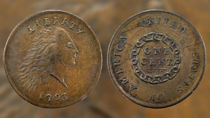 United States Of America One Cent Penny