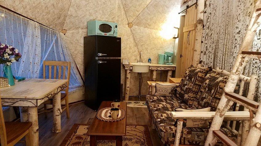 Romantic Dome Near Woodstock New York