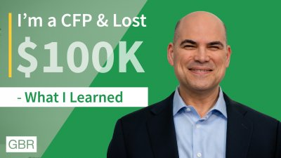 Powerful Financial Advice From a Man Who Once Lost $100K and Now Is a CFP