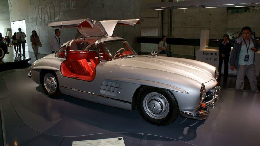 1955 Mercedes 300SL Gullwing Coupé