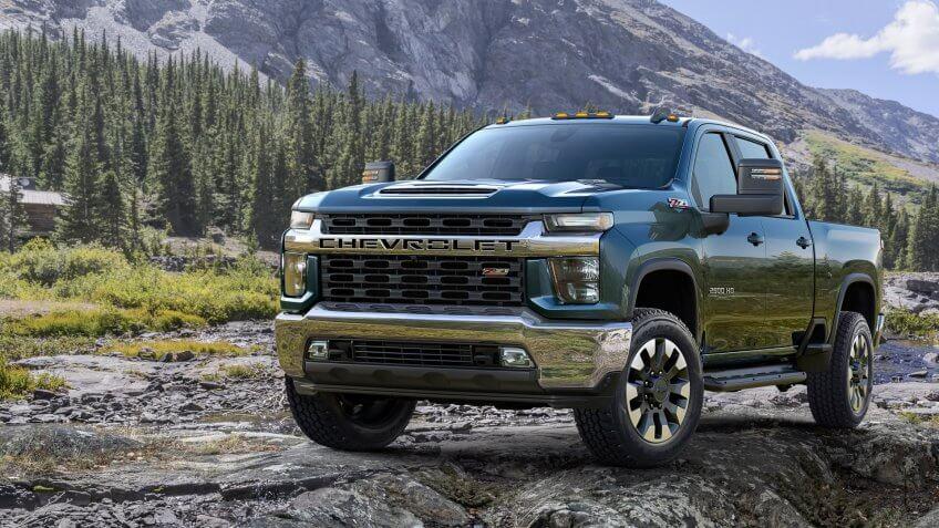 2020 Chevrolet Silverado 2500 HD LT new truck