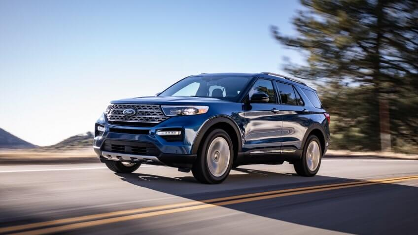 2020 Ford Explorer Limited new suv