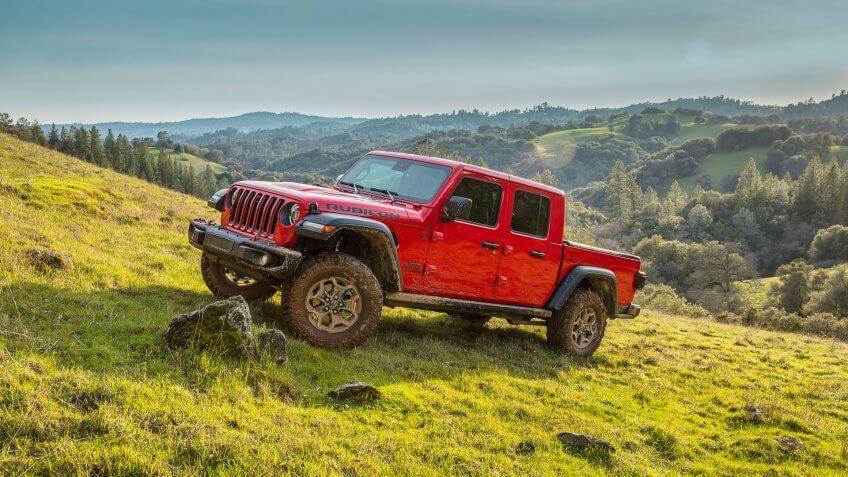 2020 Jeep® Gladiator Rubicon.