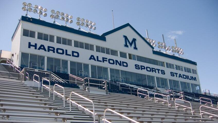 Alfond Stadium football Maine
