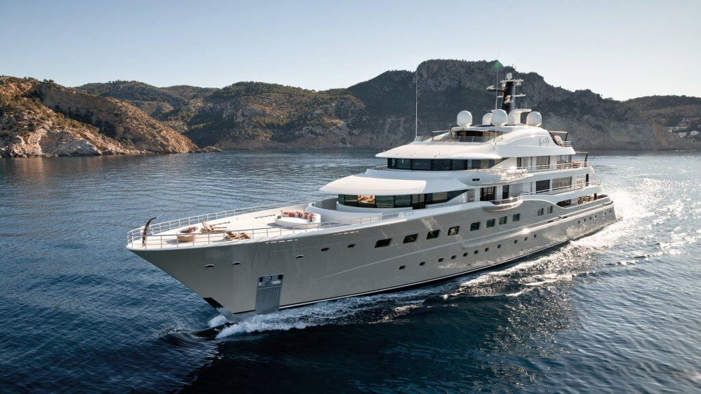 Amels 272 Limited Edition CharterWorld luxury yachts