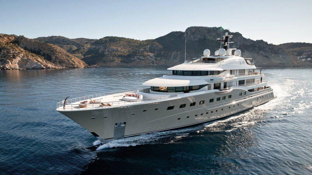 Amels 272 Limited Edition CharterWorld luxury yachts