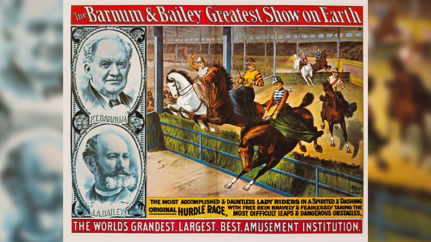 Barnum and Bailey Greatest Show on Earth poster
