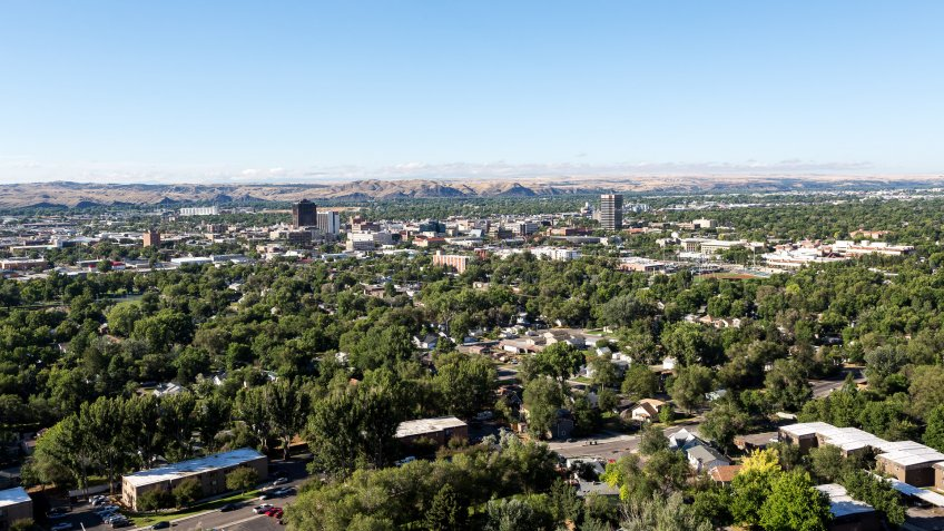 Billings Montana skyline