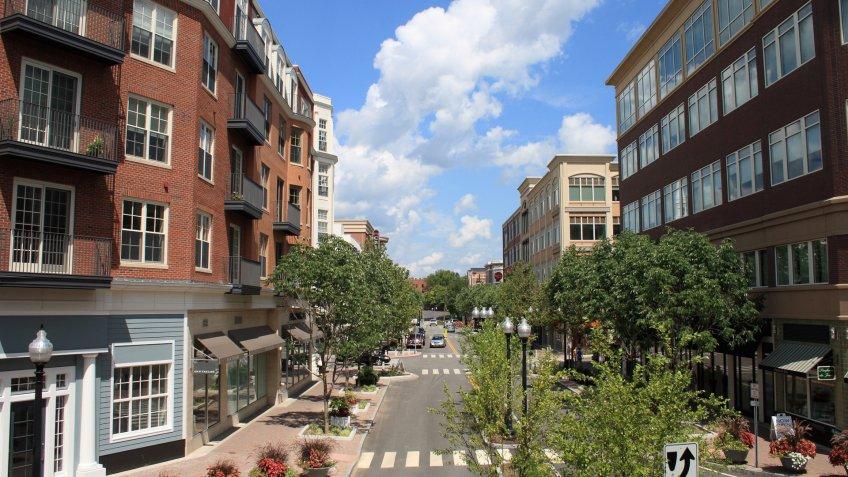 Blue Black Square in West Hartford Connecticut