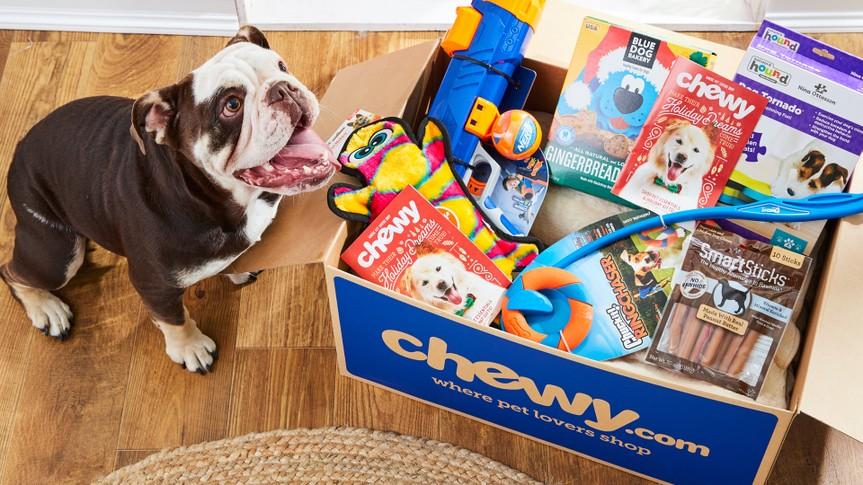 Chewy.com pet food pet startups