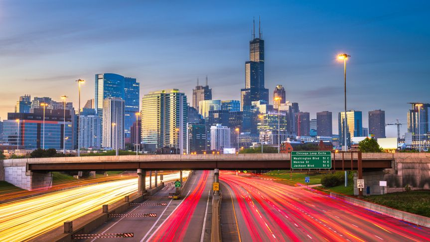 Chicago, Illinois is one of the best cities for Communication Majors