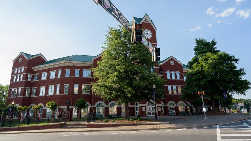 City Hall in Cumming Georgia