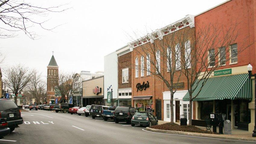 Downtown Murfreesboro Tennessee