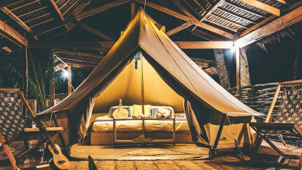 Eco-Friendly Bell Tent Rental in Paradise in Siargao, the Philippines - Glamping Hub